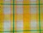 Harmony Plaid Lemon Lime